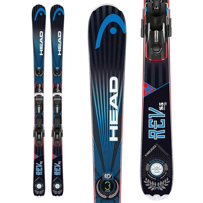 Head - REV 85 Pro Skis + PRD 12 Bindings 2014