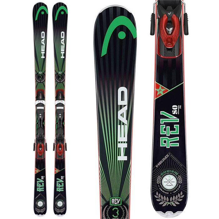 Head - Head REV 80 Pro Skis + PR 11 Bindings 2014