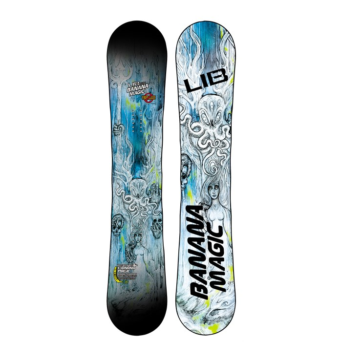 Lib Tech - Banana Magic Enhanced BTX HP Snowboard 2014