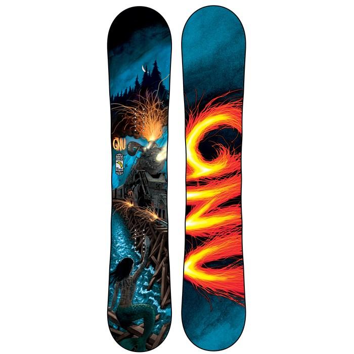 GNU - Billy Goat C3BTX Snowboard 2014