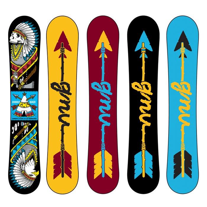 GNU - Danny Kass XC2BTX Snowboard 2014