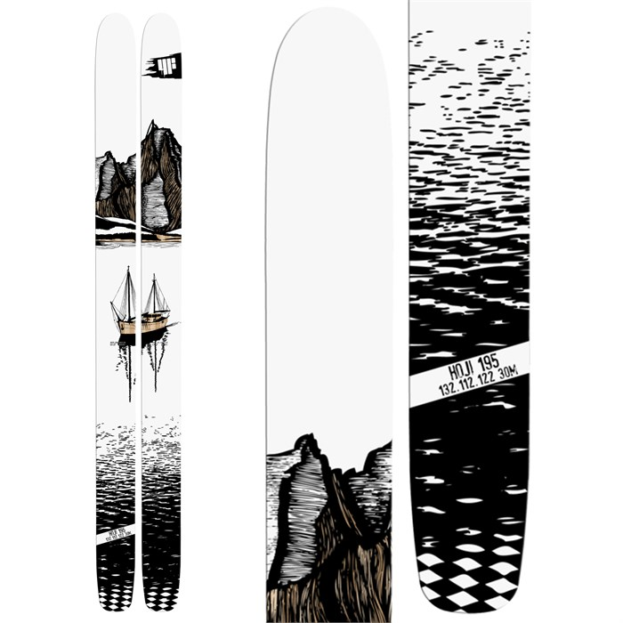 4FRNT - HOJI Skis 2014