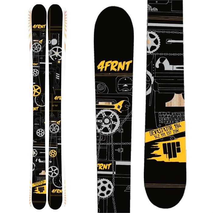 4FRNT - Devastator Skis 2014