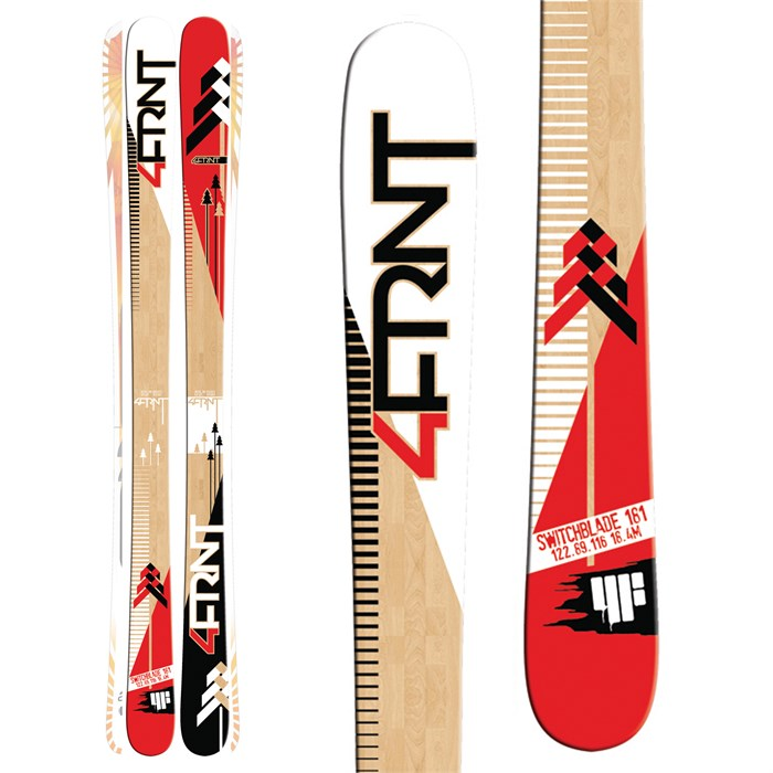4FRNT - Switchblade Skis 2014
