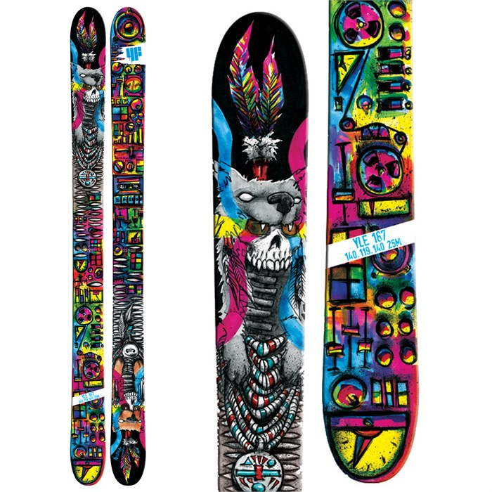 4FRNT - YLE Coyote Skis - Kid's 2014