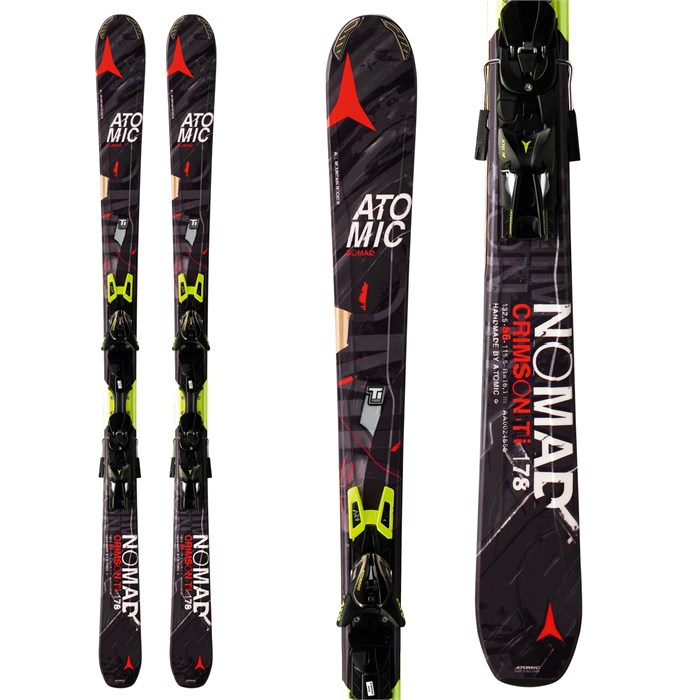 Atomic - Crimson Ti Skis + XTO 14 Bindings 2014