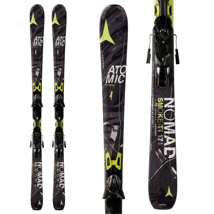 Atomic - Smoke Ti Skis + XTO 12 Bindings 2014