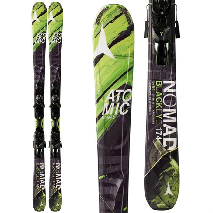 Atomic - Blackeye Skis + XTO 12 Bindings 2014
