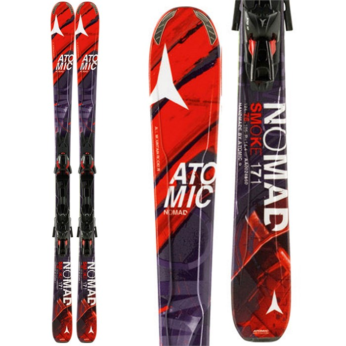 Atomic - Atomic Smoke Skis + XTO 10 Bindings 2014