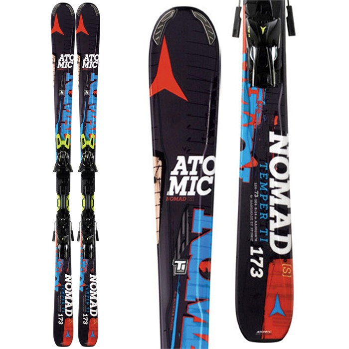 Atomic - Temper Ti Skis + XTO 14 Bindings 2014