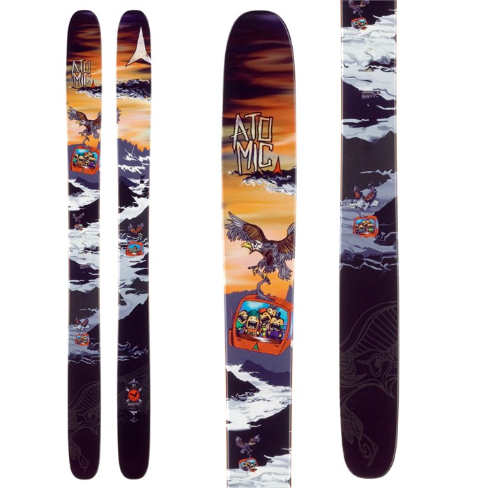 Atomic - Bent Chetler Skis 2014