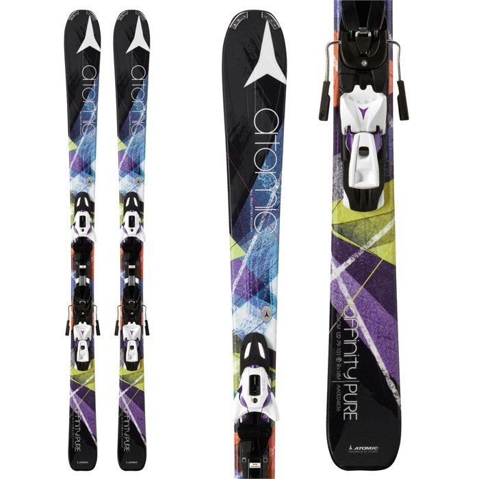 Atomic - Atomic Affinity Pure Skis + XTO 10 AF Bindings - Women's 2014
