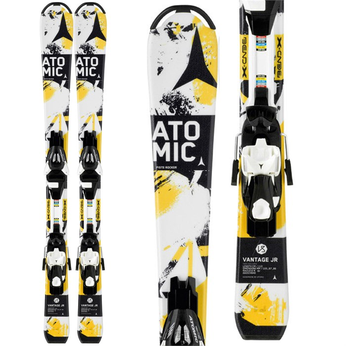 Atomic - Vantage Jr. II Skis + EZYTRACK 5 Bindings - Boy's 2014