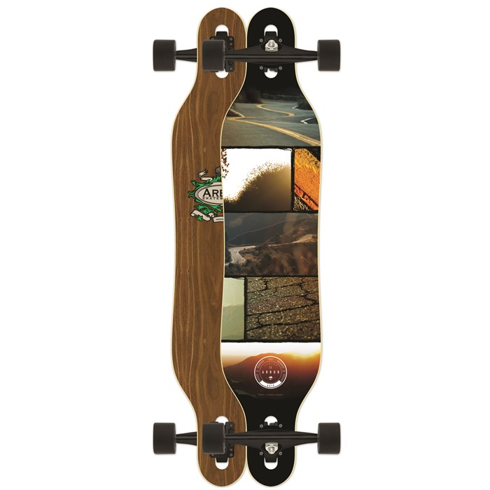 Arbor - Axis Walnut Longboard Complete