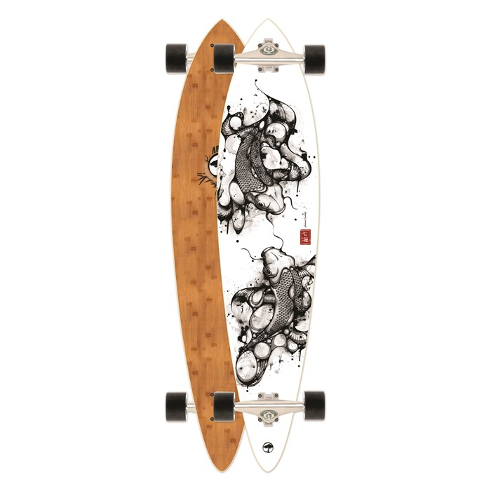Arbor - Fish Bamboo Longboard Complete