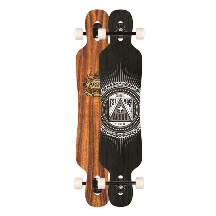 Arbor - Genesis Koa Longboard Complete