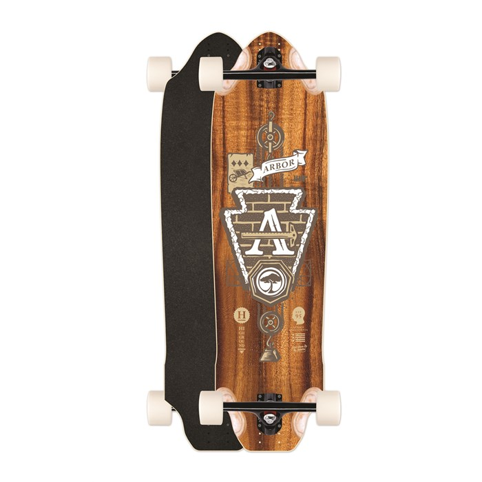 Arbor - Highground GT Longboard Complete