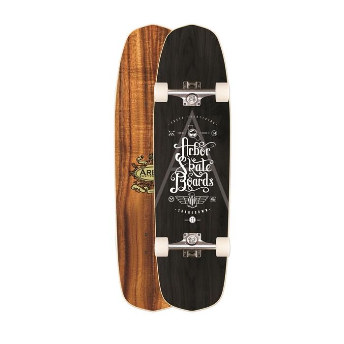 Arbor - Shakedown Koa Longboard Complete