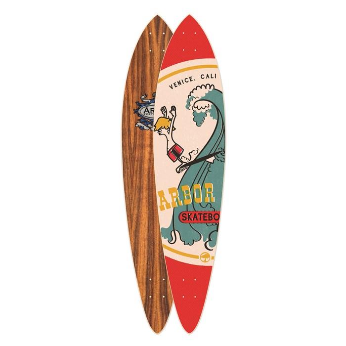 Arbor - Fish Koa Longboard Deck