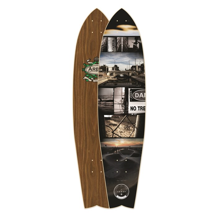 Arbor - Mission Walnut Longboard Deck