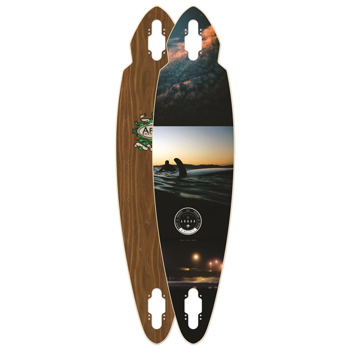 Arbor - Mindstate Walnut Longboard Deck