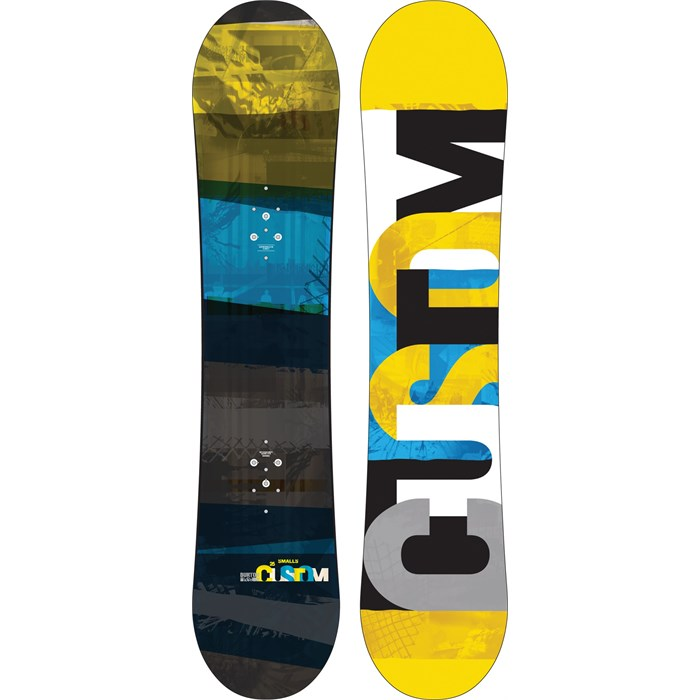 Burton - Custom Smalls Snowboard - Boy's 2014