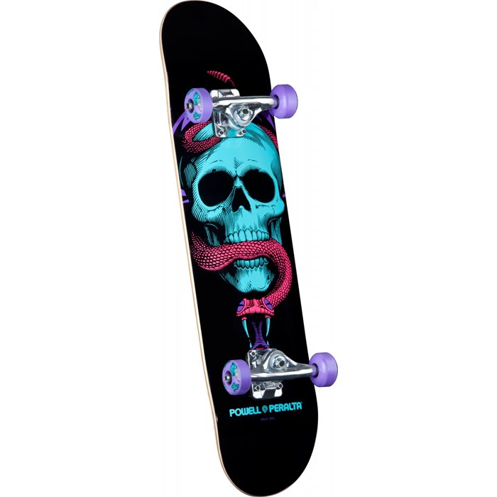 Powell Peralta - Black Light Skull & Snake Purple Skateboard Complete