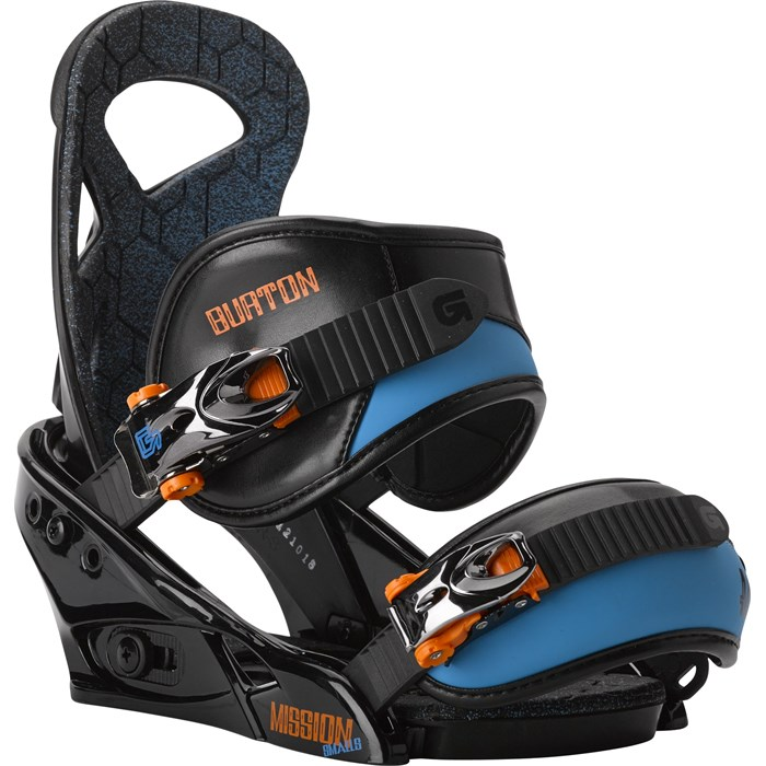 Burton Mission Smalls Snowboard Bindings - Boy's 2014