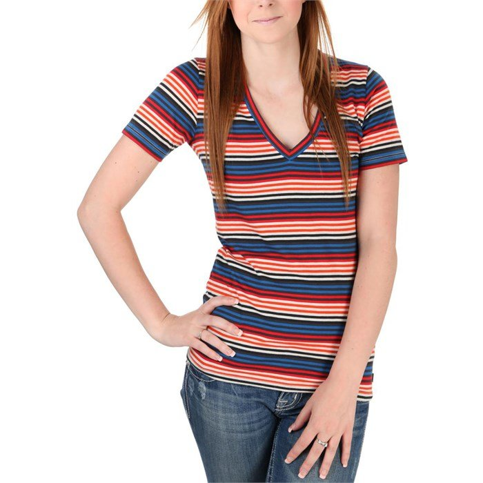 Vans - Illustration V-Neck T-Shirt - Women's
