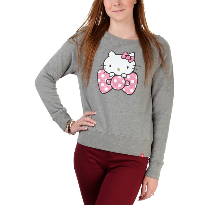 Vans - Polka Dot Hello Kitty Bow Pullover Fleece - Women's