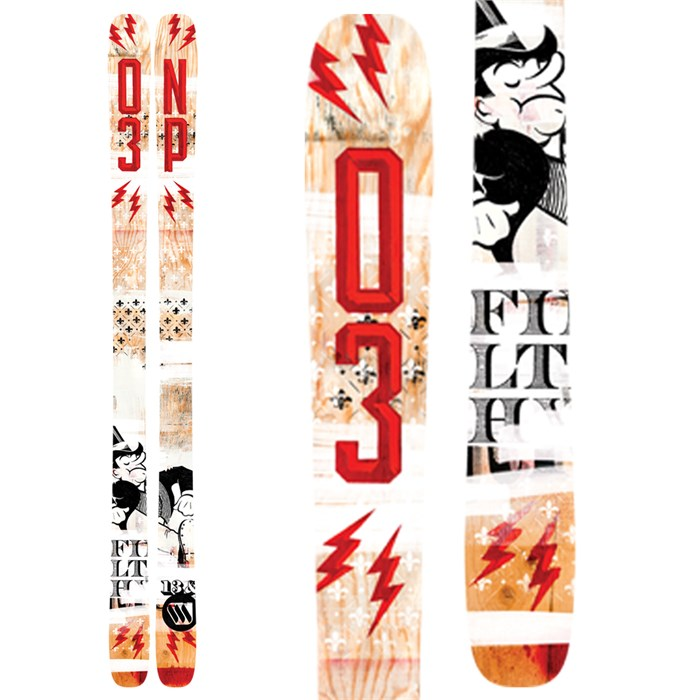 ON3P - Filthy Rich Skis 2014