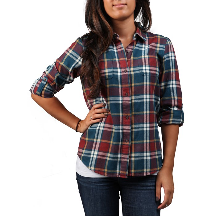 The North Face - Fair Acres Flannel Button Down Shirt - Women's