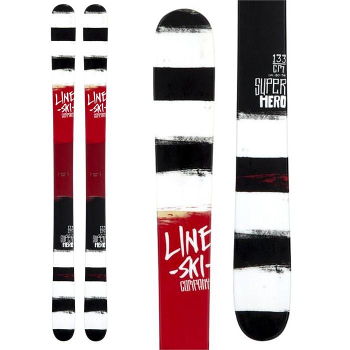 Line Skis - Super Hero Skis - Boy's 2014