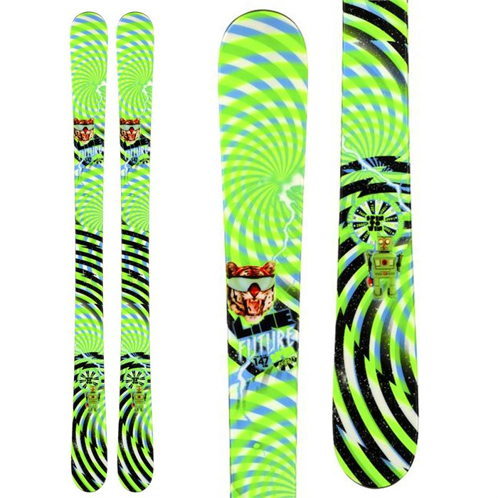 Line Skis - Future Spin Shorty Skis - Boy's 2014