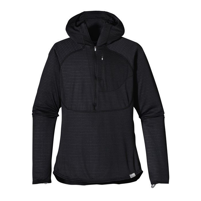 Patagonia - Capilene 4 Expedition Weight 1/4 Zip Hoodie - Women's