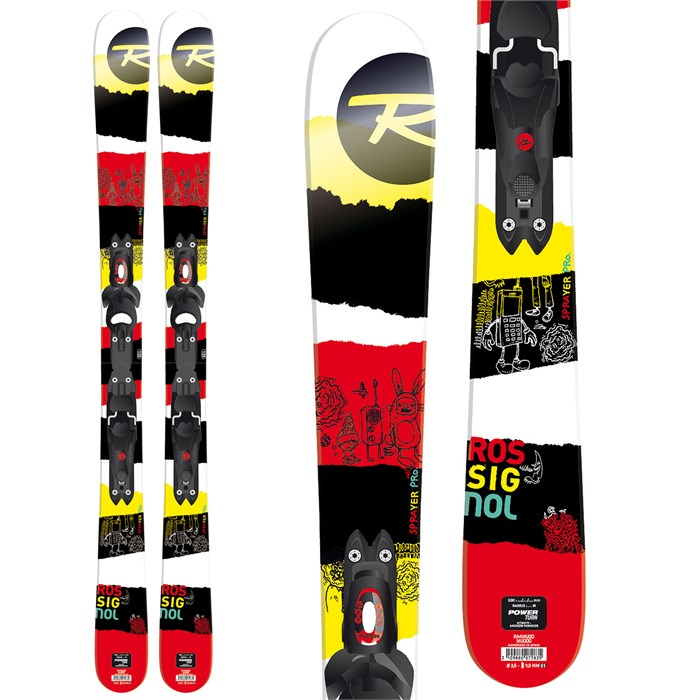 Rossignol - Sprayer Pro Skis + Xelium Kid 45 Bindings - Boy's 2014