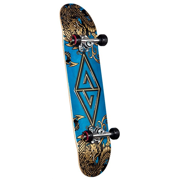 Golden Dragon - Two Dragons Skateboard Complete