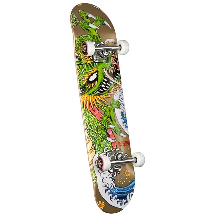 Golden Dragon - Caballero Ink Skateboard Complete