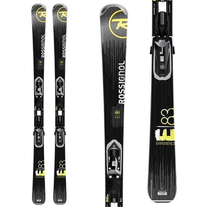 Rossignol - Experience 83 Skis + Axium 120 Bindings 2014
