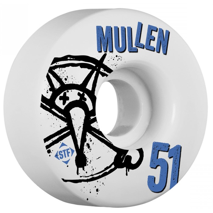 Bones - Mullen Number5 STF Skateboard Wheels