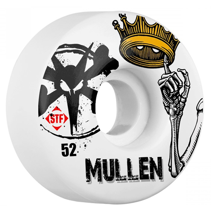 Bones - Mullen Crown STF Skateboard Wheels