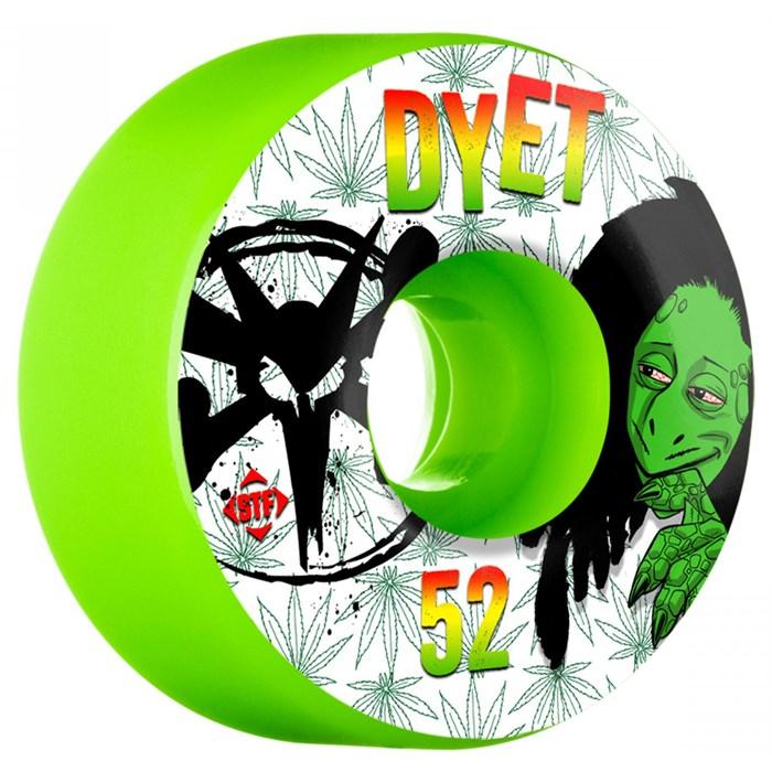 Bones - Dyet Rasta STF 83b Skateboard Wheels
