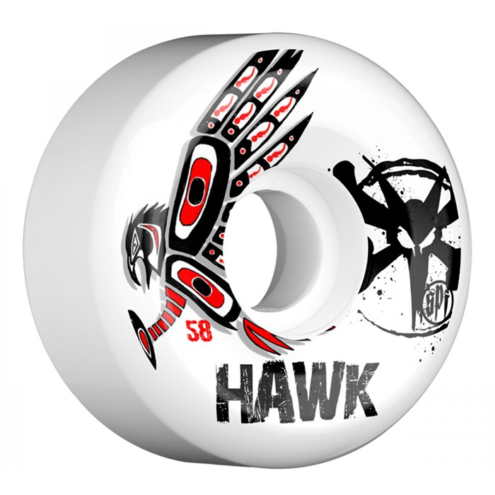 Bones - Hawk Spirit STF Skateboard Wheels
