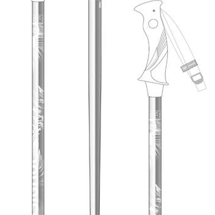 Rossignol - Temptation Light Ski Poles - Women's 2014