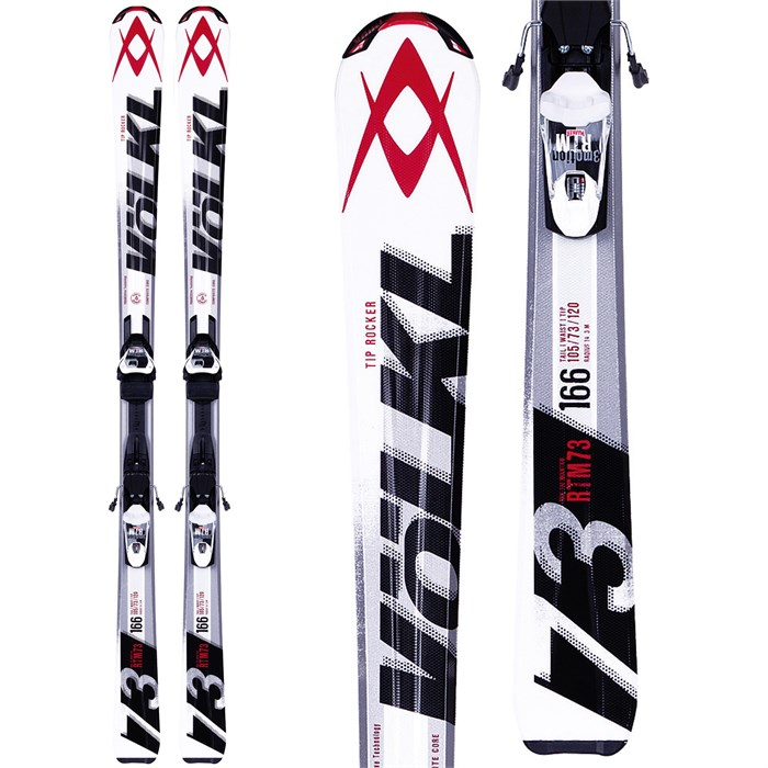 Volkl - RTM 73 Skis + 3Motion TP 10.0 Bindings 2014