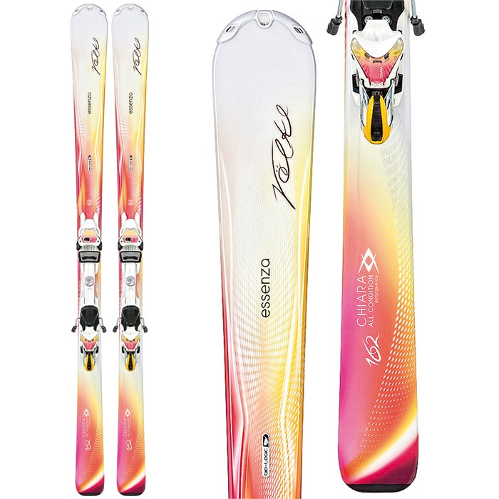 Volkl - Chiara Skis + Essenza 4Motion 11.0 TC Bindings - Women's 2014
