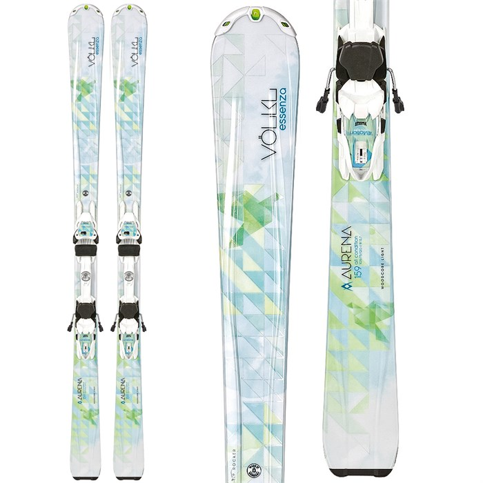 Volkl - Volkl Aurena Skis + Essenza 4Motion 10.0 Bindings - Women's 2014