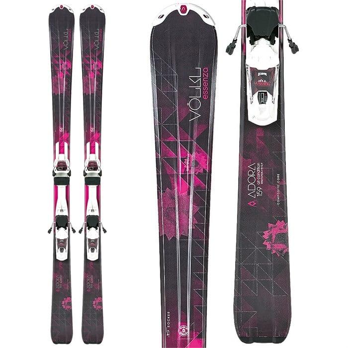 Volkl - Adora Skis + Essenza 3Motion TP 10.0 Bindings - Women's 2014