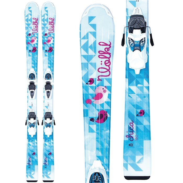 Volkl - Chica Jr Skis + 3Motion Jr 7.0 Essenza Bindings - Girl's 2014