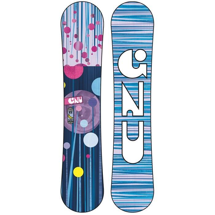 GNU - B-Mini BTX Snowboard - Girl's 2014